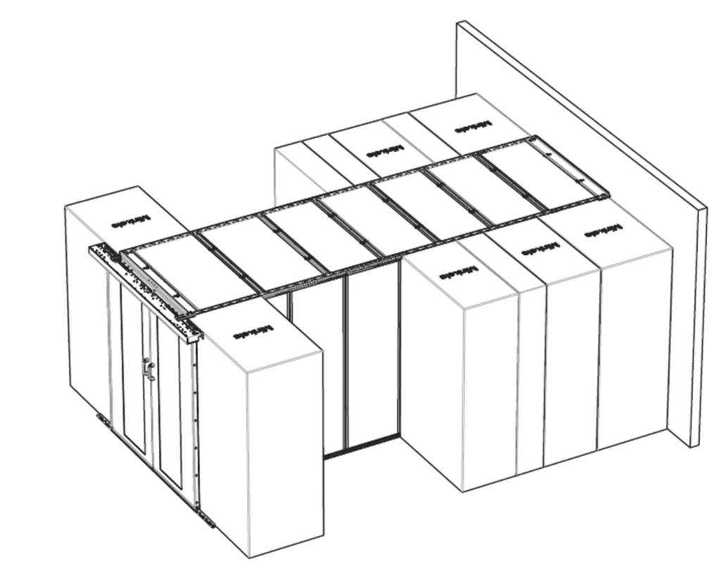 navrh studenych ulicek pro serverovny a datova centra