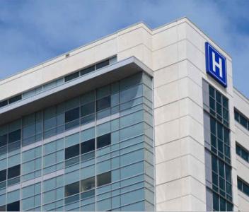 Administratívne objekty a nemocnice