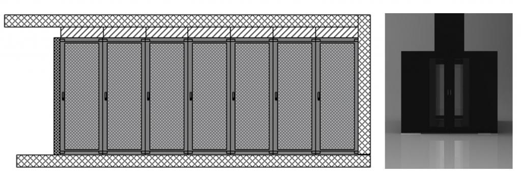 vybudovani teple ulicky v datovem centru