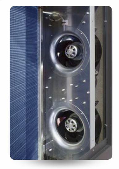 Výmenníky tepla s hydrofilní vrstvou